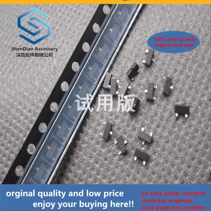 50pcs 100% orginal new best quality SMD Transistor MMBD6100LT1 Silk Screen T4 SOT23 Single Chip Dual Switch
