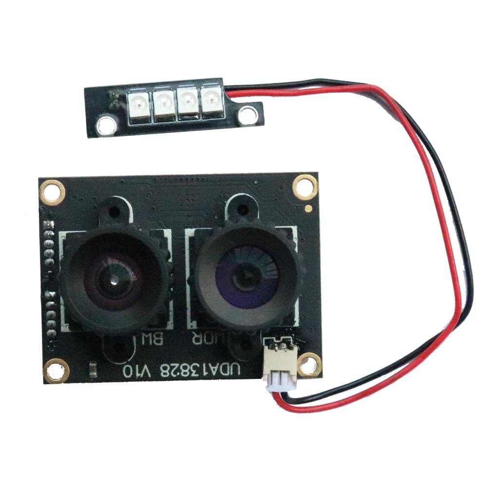 HQCAM 1080P 2 مليون بكسل مجهر كاميرا وحدة USB محرك HD 1080P الوجه الاعتراف مع للرؤية الليلية الأشعة تحت الحمراء ضوء