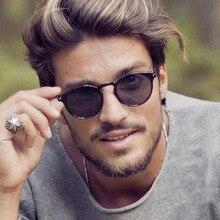 2021 Fashion Retro Sunglasses Men Round Vintage Glasses for Men/Women Luxury Sunglasses Men Small Lu