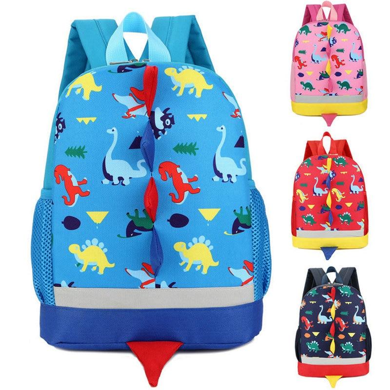 Kids Children Dinosaur Backpack Comfortable Dinosaur School Bags Kindergarten Preschool Bag 3-4-6 Years Old mochila infantil