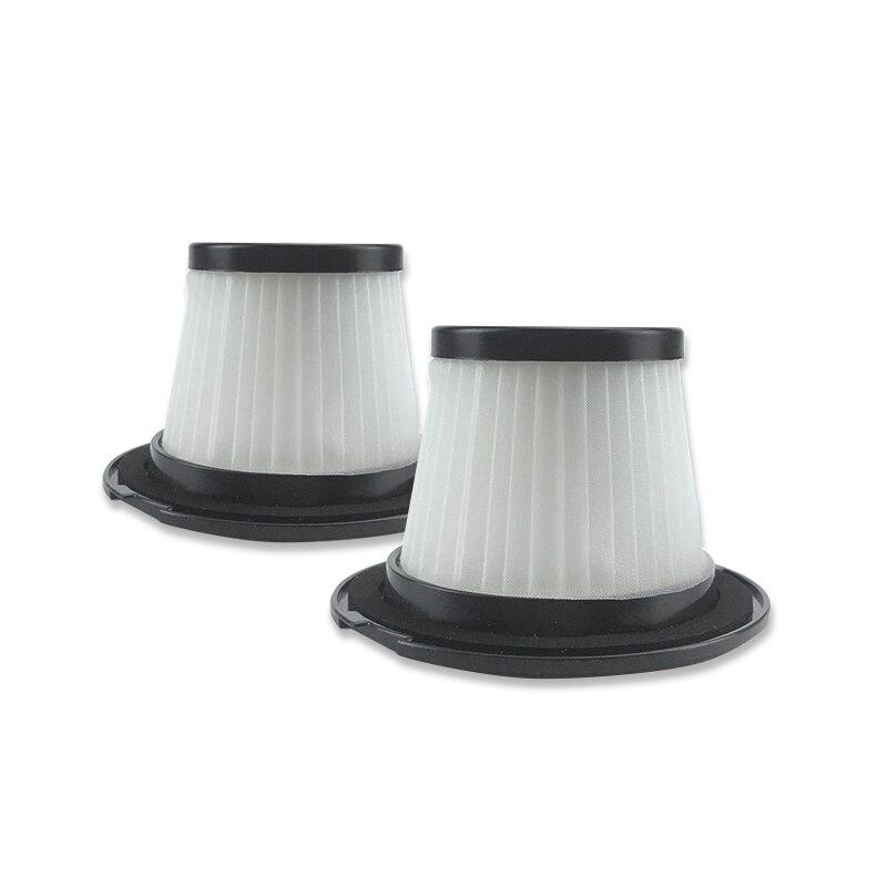 Top Deals 2PC Filter for Dibea T6 C17 T1 SC4588 600W 2-In-1 Upright Stick&Handheld Vacuum