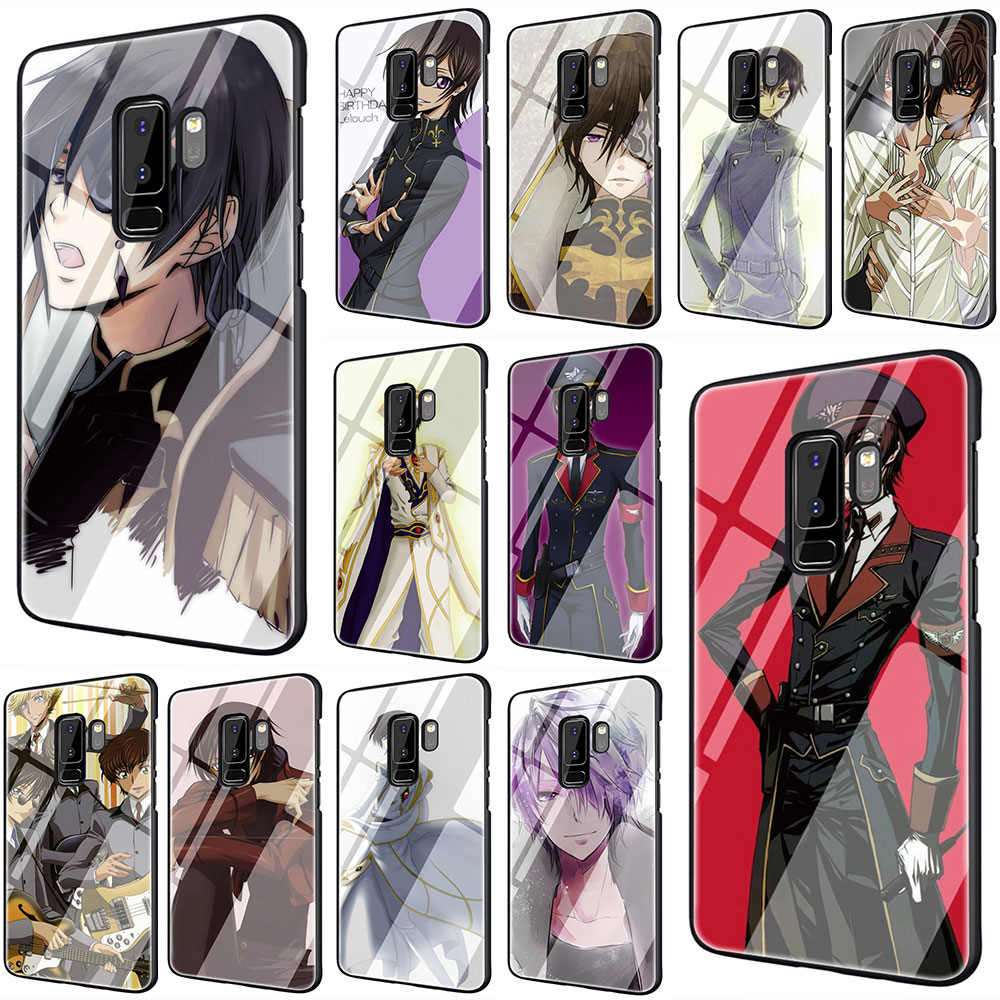 Funda de teléfono de vidrio templado Julius Kingsley de dibujos animados para Samsung S7 edge S8 Note 8 9 10 Plus A10 20 30 40 50 60 70