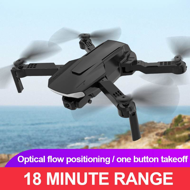 E730PRO Camera Drone Folding Quadcopter WIFI FPV Drone Dual-lens 4K Camera Height Hold RC Foldable Q