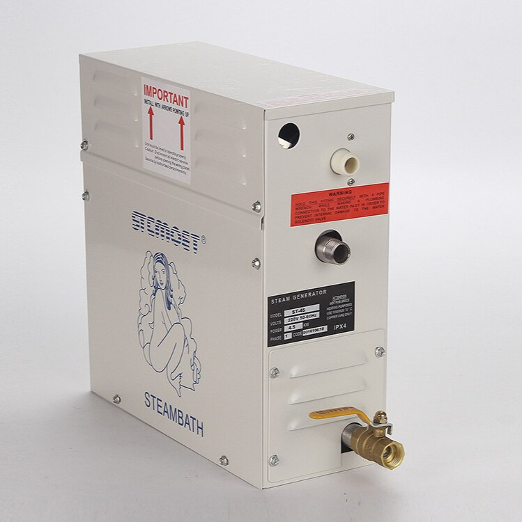 3KW 220V Sauna Machine Steam Generator Home Steam room machine Wet Stream Furnace Commercial Sauna Equipment Digital Controll enlarge