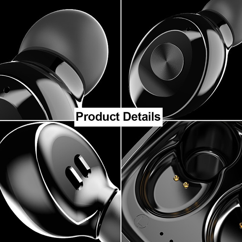 TWS Wireless Bluetooth Headphones 5.0 Mini Earbuds 3D Stereo IPX5 Waterproof Sports Earpiece  In Ear Gaming Headset With Mic enlarge
