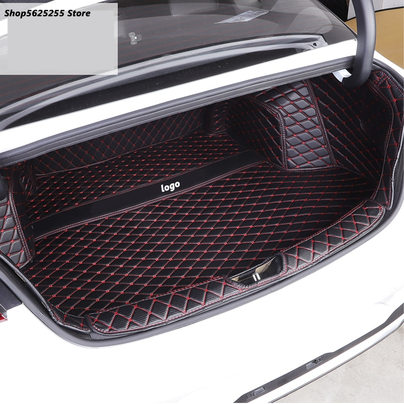Custom Trunk Liner Mat for Kia Optima K5 2020 2021 Accessories Luggage Carpet Trunk Pat Full Encirclement Case Protection Cover enlarge