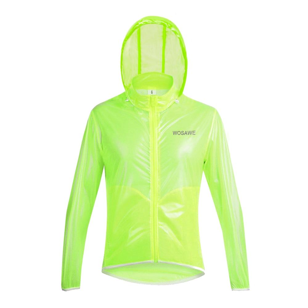 WOSAWE 3 Colors Motorcycle Rain Jacket Men Raincoat Waterproof Windproof MTB Ultralight Windbreaker Racing Sports Clothes enlarge