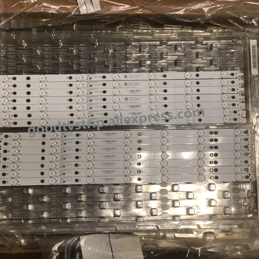 LED الخلفية ل 55PUS6501/12 55PUS6551/12 55PUS6561 55PUS6581 TPT550U2 GJ-2K16-550-D714-V4-L R LBM550M0701-KY-4 0 (R) (L)