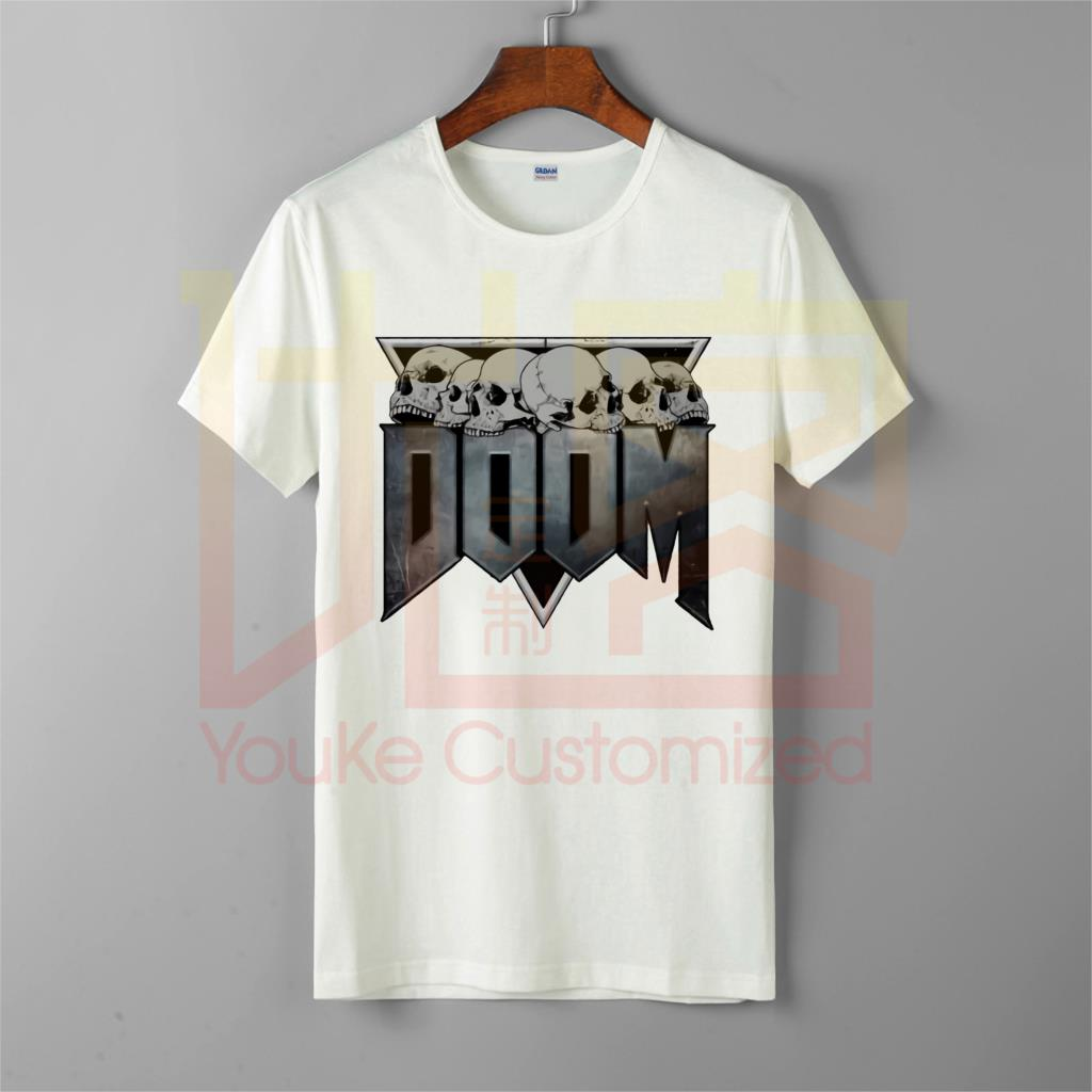 Doom eterno 100% algodón camiseta de manga corta juego conan barbarian thulsa snake cult camiseta ropa impresa