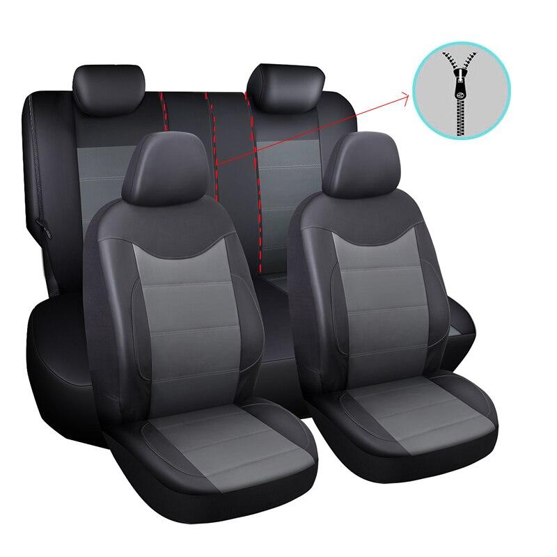 Funda de asiento de coche accesorios de coche para VW Santana tizan L 2017 2018 Mk2 Touareg 2004 2005 2006 2011 t-roc Vento