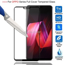 Full Cover Tempered Glass Case For OPPO R15 R15 PRO 2.5D 9H Screen Protector for OPPO R7S R9S R9 R11