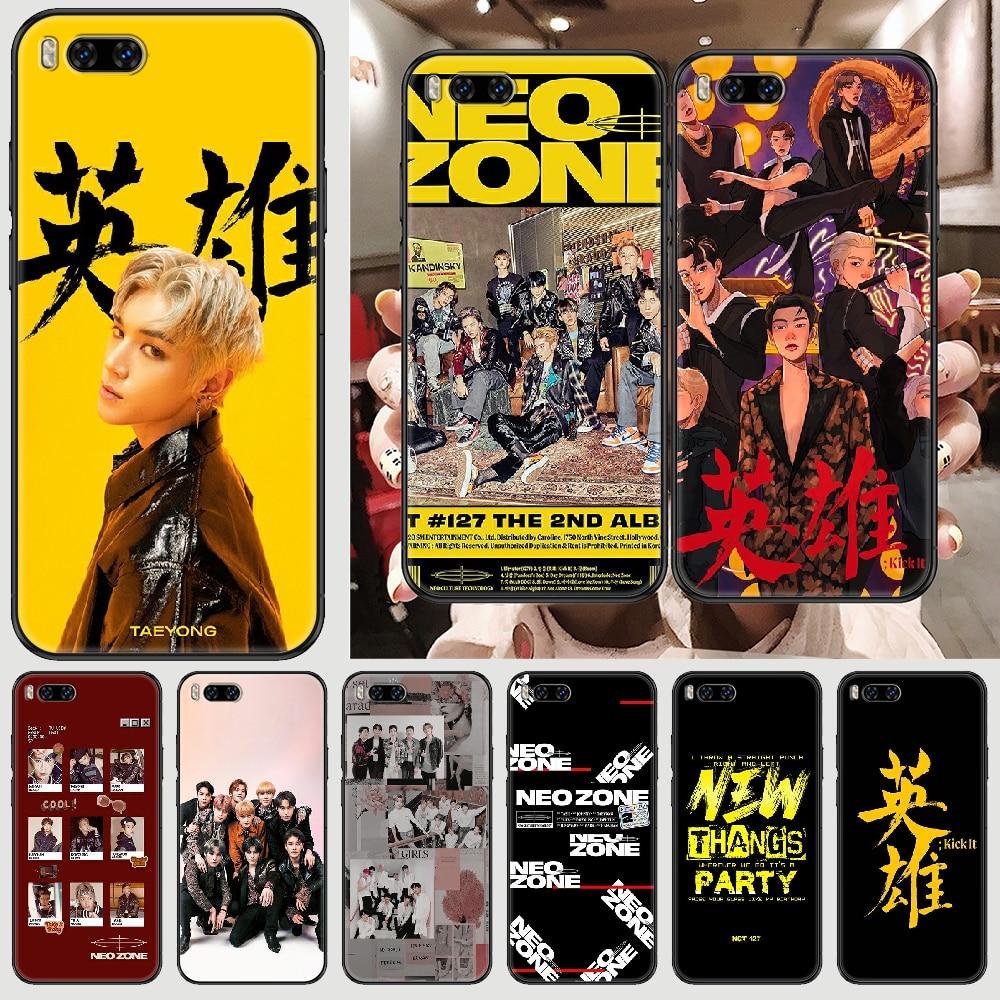 NCT 127 Neo zona kpop funda de teléfono para Xiaomi Mi Max...