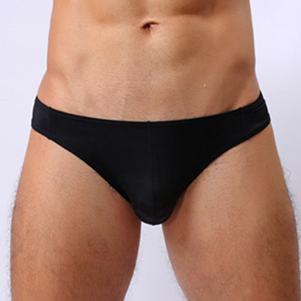 Mens Sexy Underwear Low-waisted Briefs Tight-fitting Shorts Thong Underpants Underwear Low-waisted Briefs Tight-fitting Shorts low waisted floral thong bikini