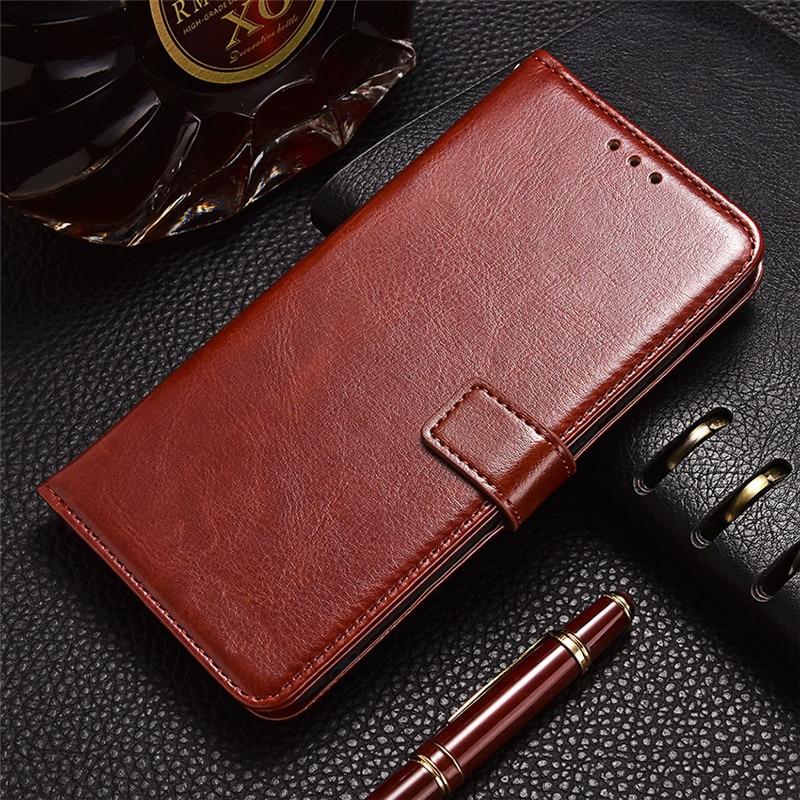 Leather Flip Case for Huawei Y5 2017 Y5Lite 2018 Y5Prime 2019 Y3 II Y360 Y3C P Smart Plus PSmart Z Soft Silicone Cover