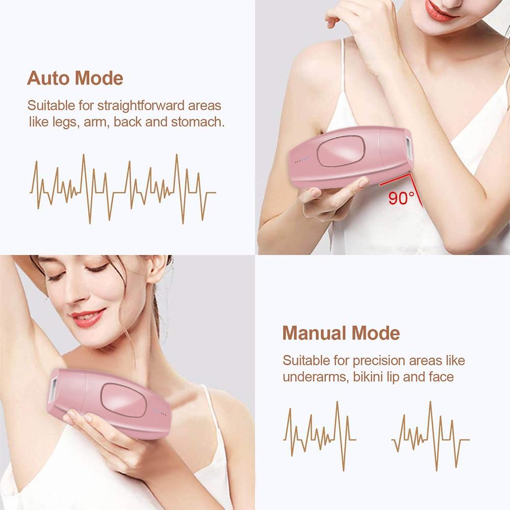 600000 Flashes Laser Epilator Permanent IPL Hair Removal Machine Electric Facial Photoepilator Device For Women Female Bikini enlarge