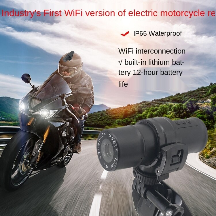 Hot selling waterproof sports DV HD WiFi Internet camera mountaineering and riding electric motorcycle wide-angle recorder enlarge