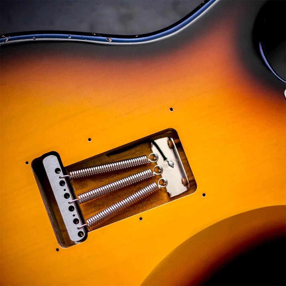 Muelles de Metal duraderos para guitarra eléctrica, piezas de guitarra clásica para...
