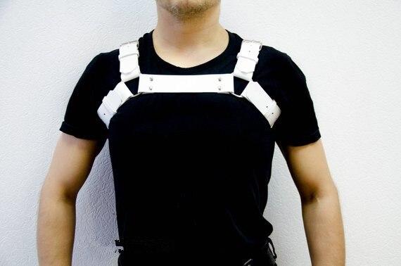Sexy Body Harness Chest Lingerie Men Suspenders Belt Cosplay Costumes Bdsm Bondage Hombre Adjustable Fetish Restraint Bandage