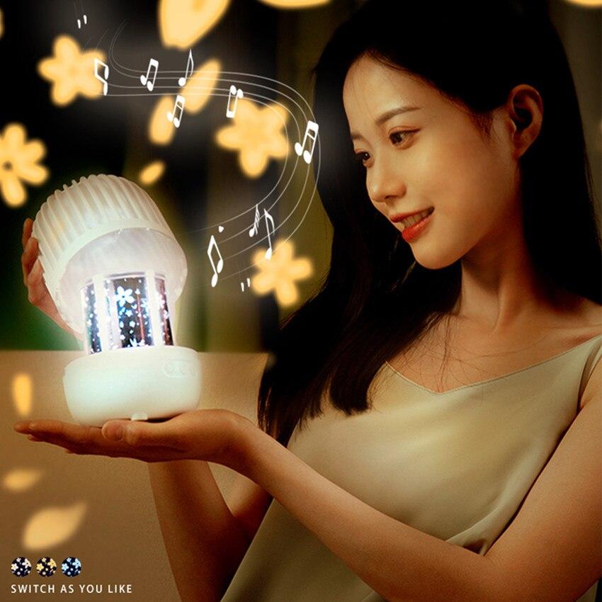 LED ستار غالاكسي العارض مصباح أضواء الليل الموسيقى Proyector دي Galaxia تدوير Sterrenhemel الإسقاط ضوء للأطفال فتاة هدية