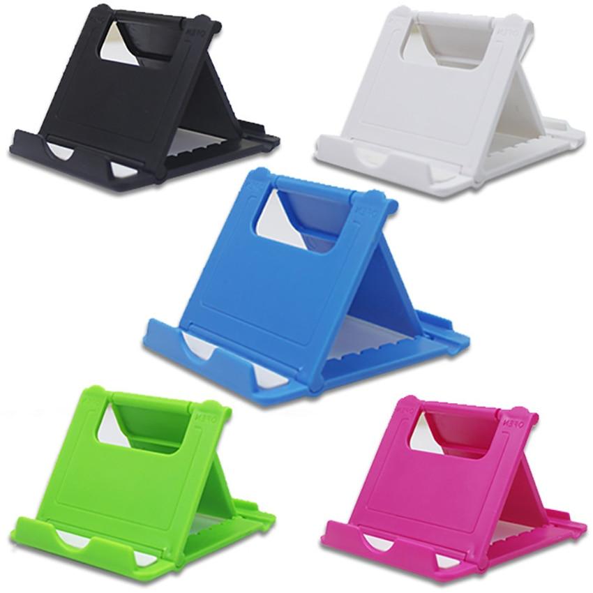 1Pc Folding Mobile Phone Holder Desktop Tablet Stands Multifunctional Universal Foldable Tablet PC B