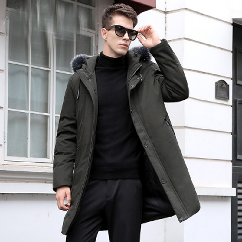 blackleopardwolf 2019 new arrival winter coat high quality causal parkas hat detachable down jacket men clothing bl 1000 New Winter Jacket Men High Quality Fashion Casual Coat Hood Thick Warm Down Jacket Male Winter Long Parkas Outerwear