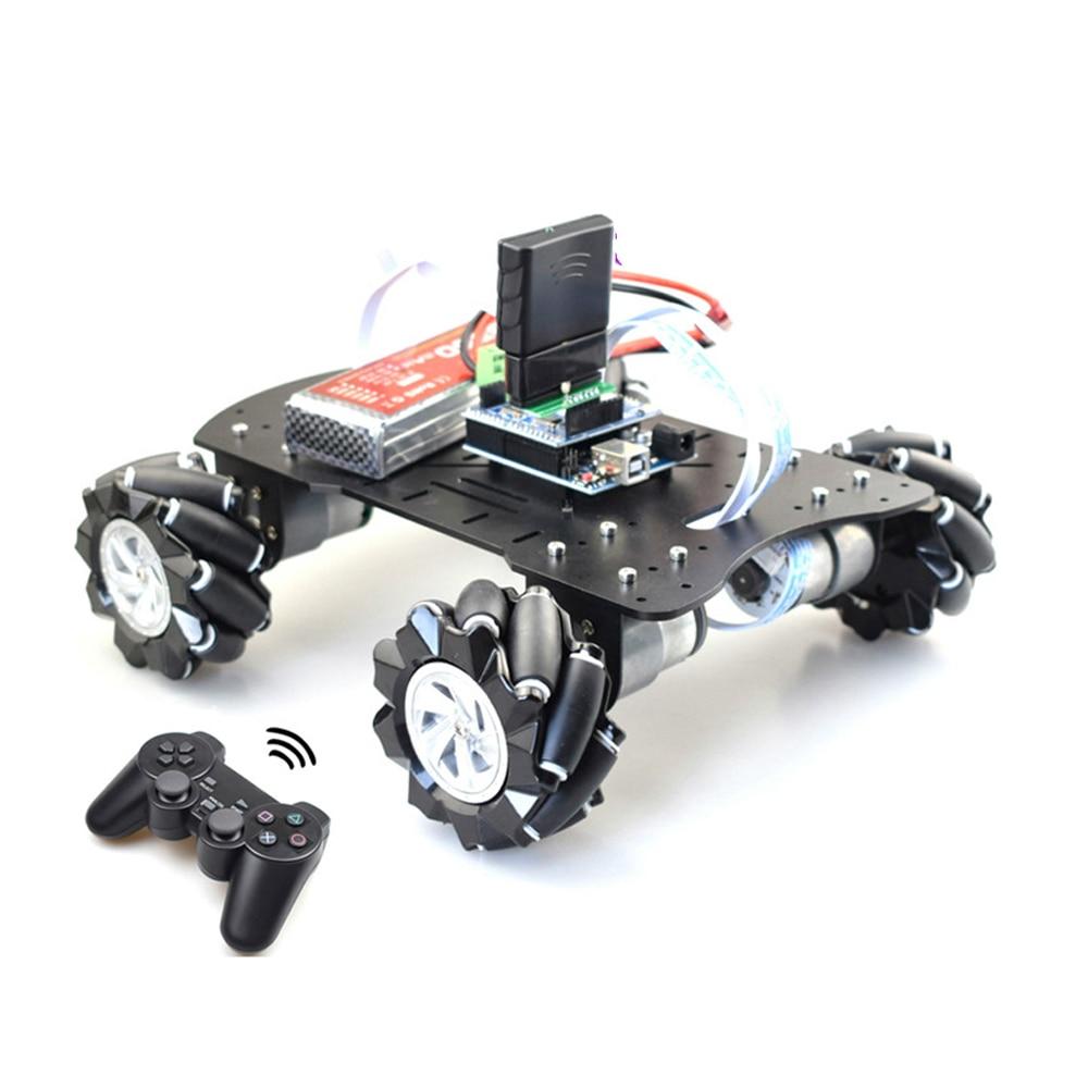 مقبض التحكم عن بعد الذكية ميكانوم عجلة سيارة روبوت اومني اتجاهي ل اردوينو مع محرك التشفير 12 فولت لتقوم بها بنفسك مشروع الجذعية