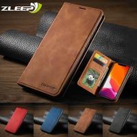 Роскошный кожаный чехол-книжка для iPhone SE 2020 12 Mini 11 Pro XR XS Max 8 7 6 6s Plus 5