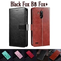 stand cover for black fox b8 fox plus case etui wallet funda book on black fox b8 foxplus case flip leather magnetic card coque