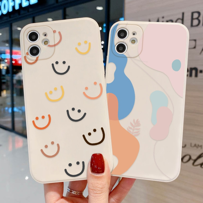 Silicone Material Lens Protection Case IPhone 11 12 Pro Max 6 6s 7 8 Plus X XR XS Max 12 Mini Soft A