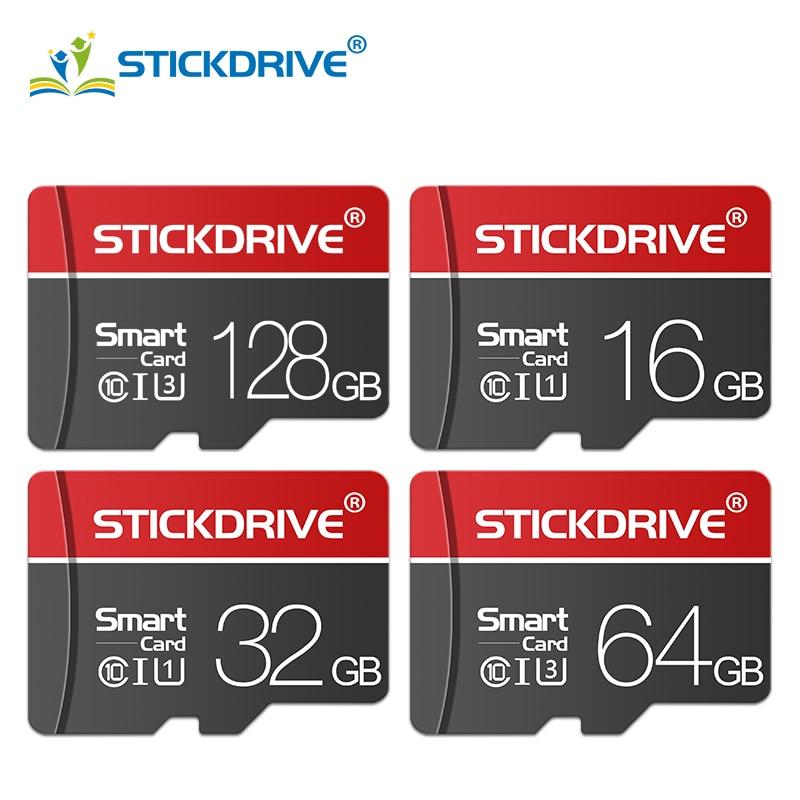 Tarjeta de memoria Micro sd promocional de 128GB, 64GB, U3 UHS-3, 32GB, tarjeta flash Class10 UHS-1, tarjeta Microsd TF/SD