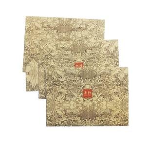 50 шт./лот винтажный крафт-конверт, почтовые открытки, чехол для поздравительной открытки, коричневые крафт-конверты, канцелярские принадлежности Zakka, приглашения