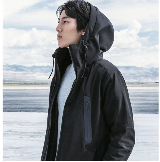 Xiaomi Mijia 90fun, умный пуховик с контролем температуры, с зарядкой, мощный, быстрый нагрев, куртка, можно стирать on AliExpress - 11.11_Double 11_Singles' Day