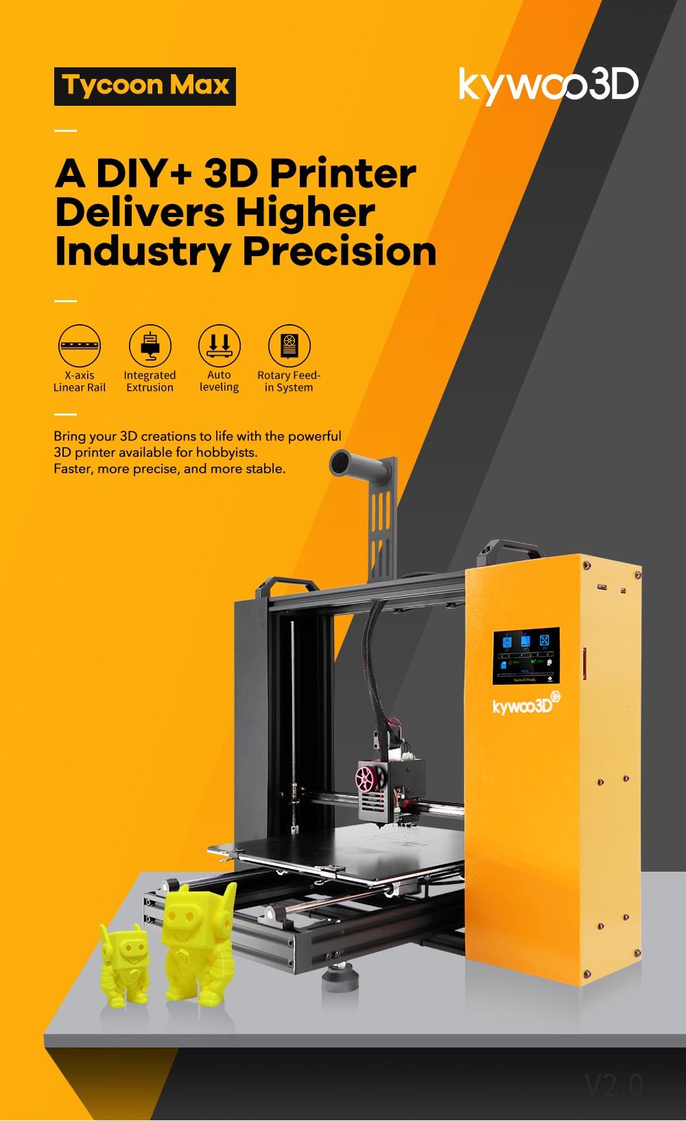 Kywoo Tycoon Max: An affordable DIY 3D Printer