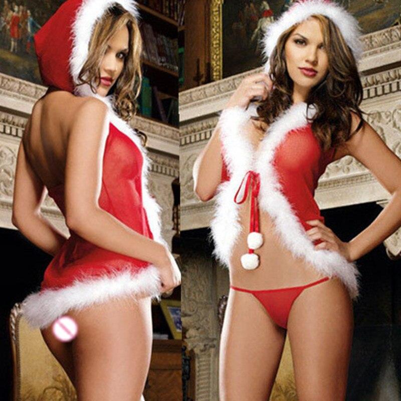 HKMN disfraces para cosplay de Navidad ropa interior Sexy para mujer Lencería de muñecas para bebés conjunto de ropa de noche Stripper Sexy ropa interior BDSM