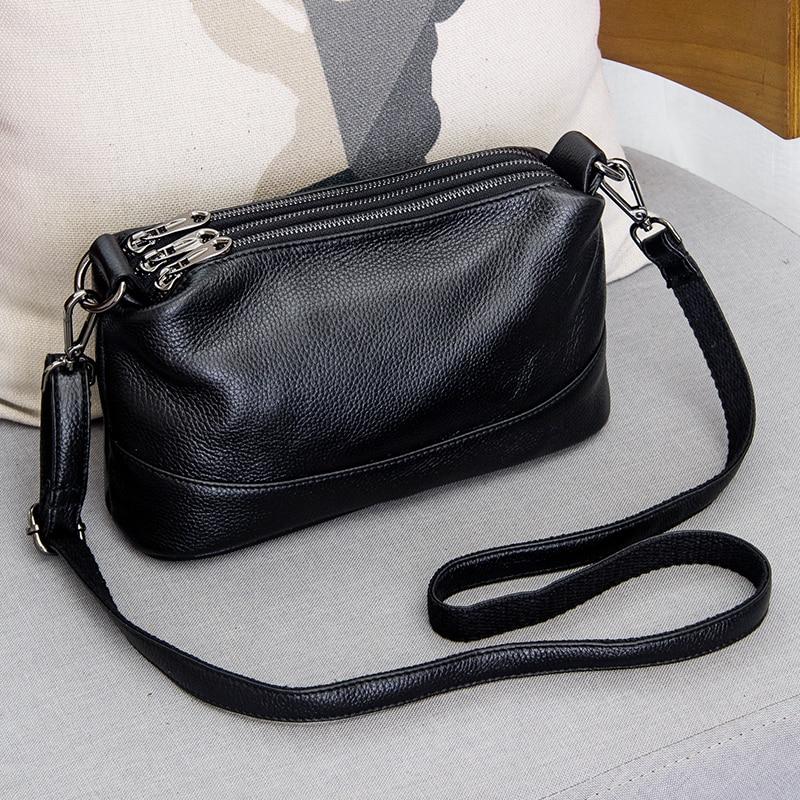 Arliwwi جلد طبيعي حقيبة كتف المرأة حقيبة يد فاخرة موضة حقائب كروسبودي للنساء الإناث حقيبة اليد G12