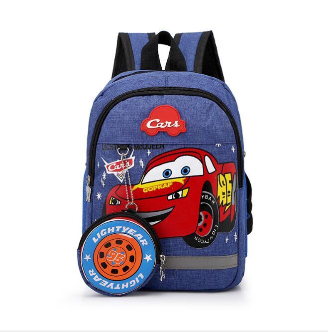 Bolsas do Jardim de Infância Criança dos Desenhos Brinquedo de Pelúcia Disney Crianças Meninos Meninas Carro Mochila Animados Viagem Mochilas Presente 95