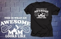 this is what an awesome mom looks like t shirt gift for mother mommy mom tshirts tees shirt