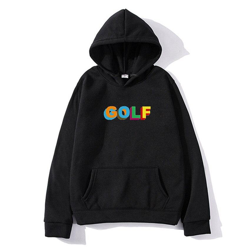 Модный бренд гольф клуб Ван/Тайлер the creator обувь в японском стиле Харадзюку Толстовка для мужчин и женщин в стиле хип-хоп худи в уличном стиле...
