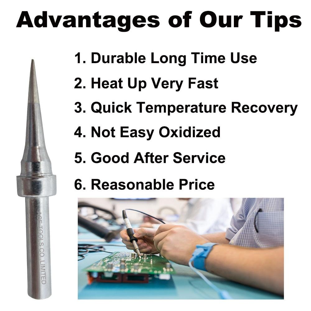 Details about  /100/% Original  Quick Soldering Iron Tip LI 1C J SK for Quick 203 203H 204 204H