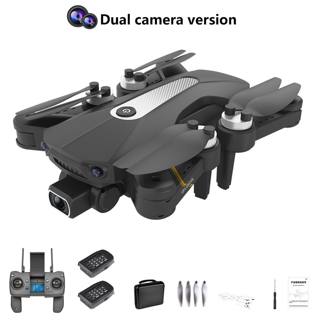 New K80 Drone 8K HD dual camera with GPS 5G WIFI wide angle FPV real-time transmission rc distance 1.2km professional drone enlarge