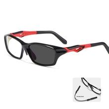 Myopia Glasses Photochromic Anti Radiation Lens Transition Blue Light Filter Sunglasses with -50 Gra