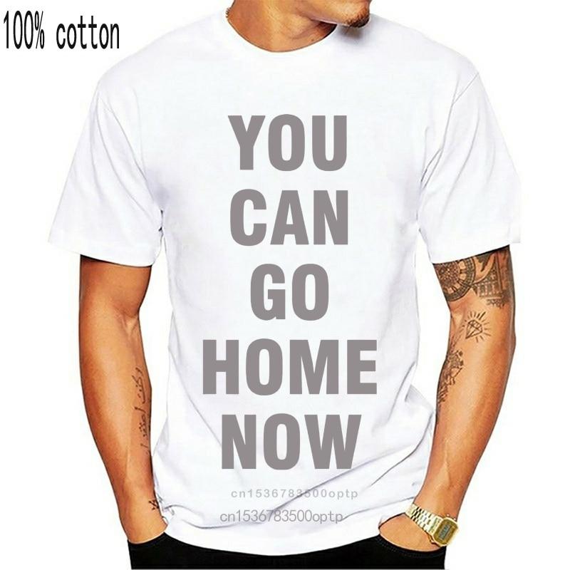 Preto. Camiseta branca você pode ir para casa agora camisa treino motivação 2018 manga curta algodão t camisas homem roupas