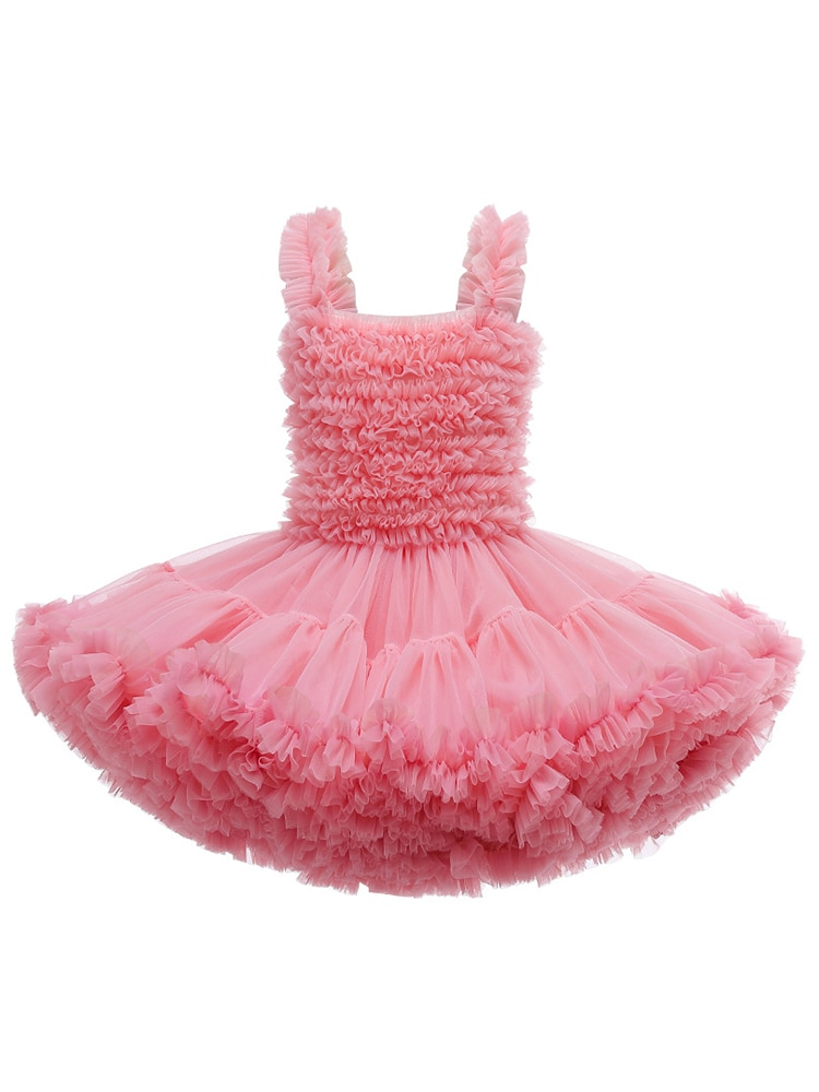 Birthday Party Costume Baby Girls Dress Summer Little Princess Tutu Christmas Halloween Gift 1 2 3 4 5 6 Years Old Kids Clothes