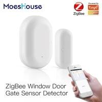 Tuya ZigBee     detecteur de porte fenetre intelligent  systeme dalarme de securite domestique intelligent  vie intelligente  application Tuya  telecommande