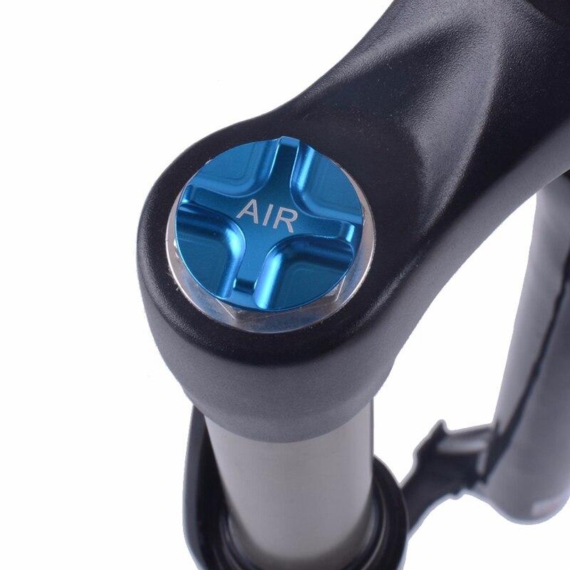 Bike Air Gas Shcrader Amerikanischen Ventil Kappen Bike Suspension Fahrrad Gabel Teile für MTB Rennrad
