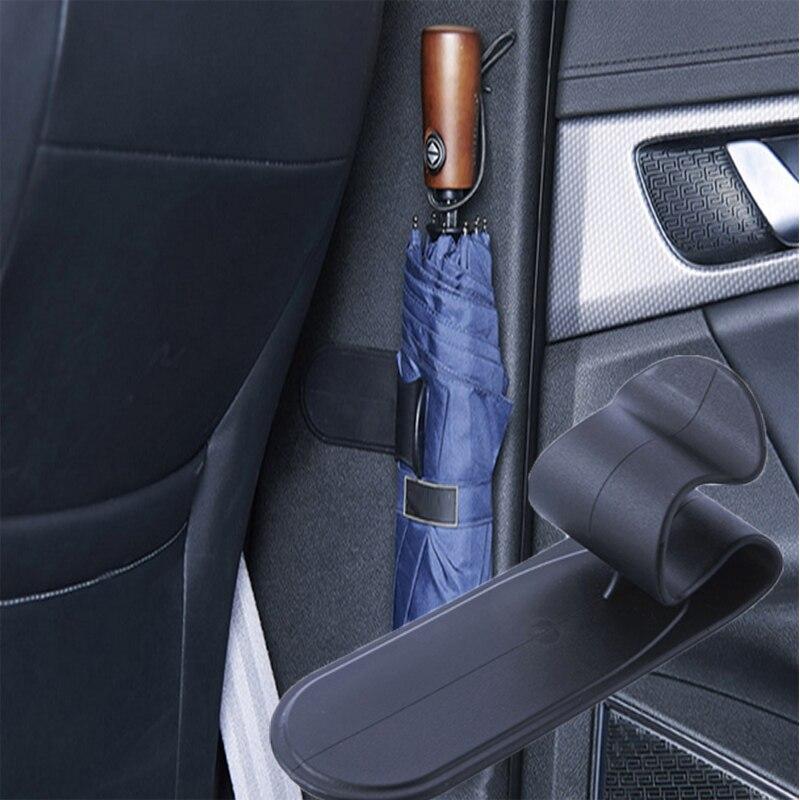 Soporte Universal para paraguas de coche/hogar, colgante de Clip para opel astra j volvo xc60 bmw e92 ford focus mk3 peugeot 406 vectra