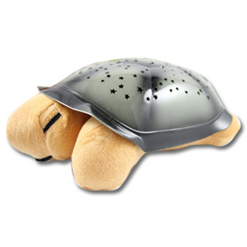 Tortoise Starry Sky Projector Lamp With Music Star Night Light Plush Toys Galaxy Star Projector Light Kids Gifts enlarge