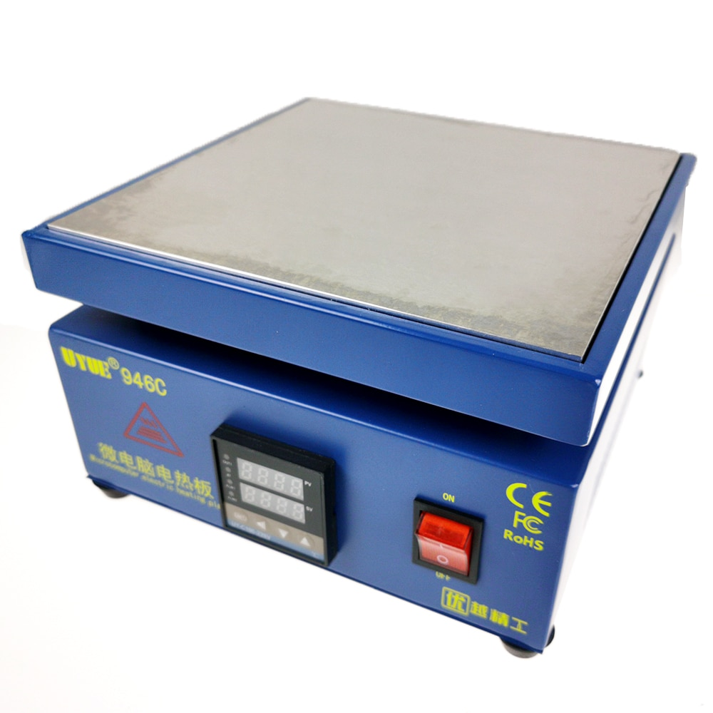 946C LED Desoldering Station Digital Display Thermostat Plate Demolition Screen Heating Table Maintenance Preheating Platform enlarge