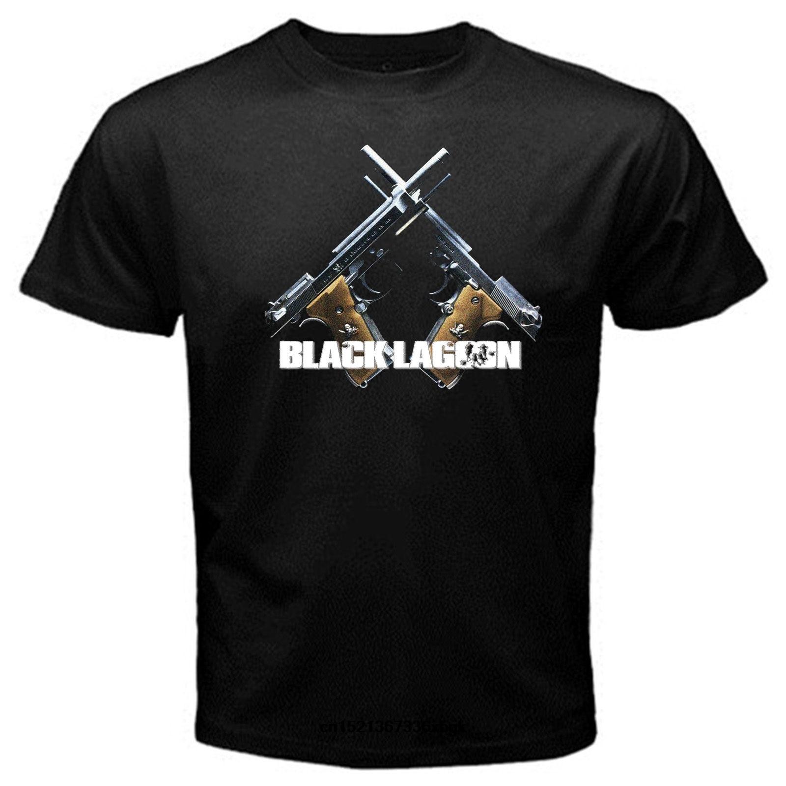 Laguna Negra anime Japón pirata merc revy rokurou camiseta de Dutch negro