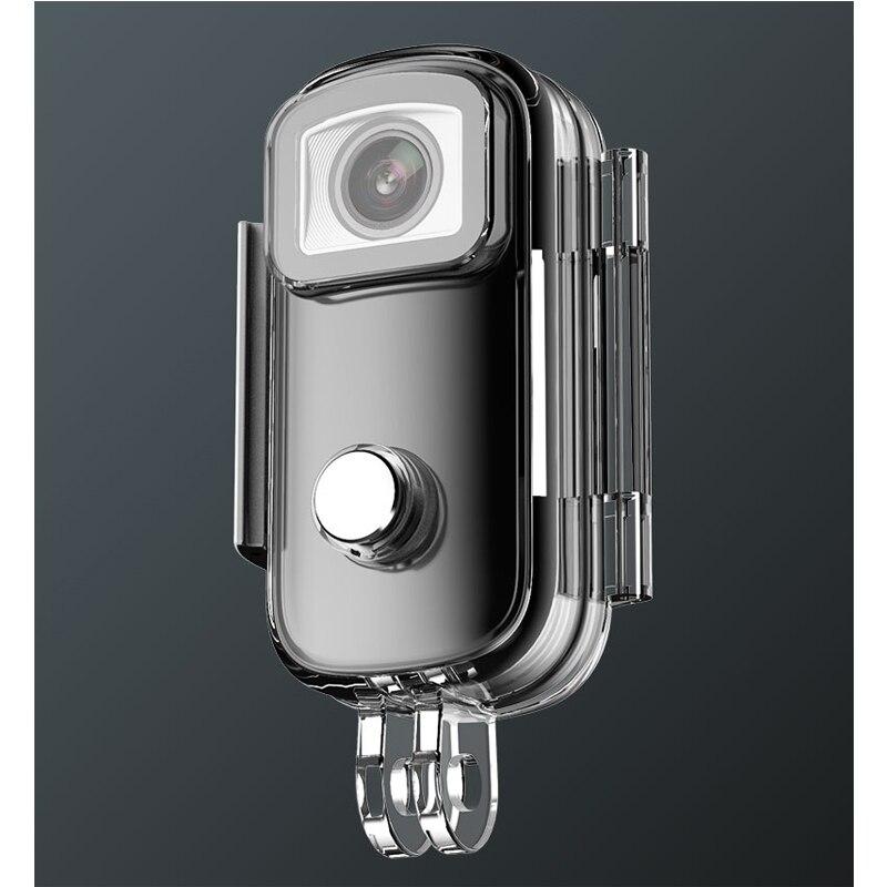 SJCAM C100 زائد عمل صغير كاميرا الإبهام كاميرا 2K 30FPS H.265 NTK96675 واي فاي 30 متر مقاوم للماء الرياضة كاميرا الفيديو الرقمية كاميرا ويب